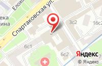 Схема проезда до компании Российское Общество По Внедрению Бестраншейных Технологий в Москве