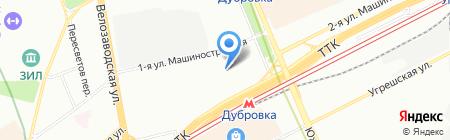 Бинариус на карте Москвы