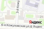 Схема проезда до компании Бухгалтерский консалтинг в Москве