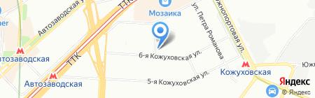 Бухгалтерский консалтинг на карте Москвы
