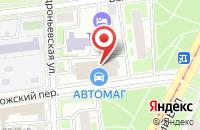 Схема проезда до компании Универсалтрейд в Москве