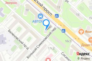 Двухкомнатная квартира в Москве Волгоградский проспект, 14