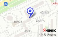 Схема проезда до компании ТФ ЮНИСТАН в Москве