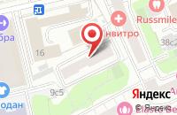 Схема проезда до компании Еврогрупп в Москве