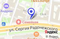 Схема проезда до компании АКБ ПЕРЕСВЕТ в Москве