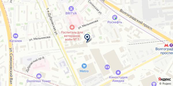 Import Motors на карте Москве
