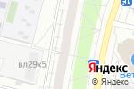 Схема проезда до компании Эль Шарм в Москве