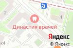 Схема проезда до компании Golden Locks в Москве