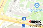 Схема проезда до компании Берри в Москве
