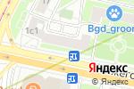 Схема проезда до компании Smoke Gallery в Москве