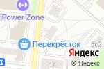 Схема проезда до компании 220-Вольт в Москве