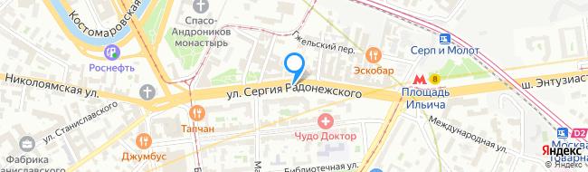 улица Сергия Радонежского