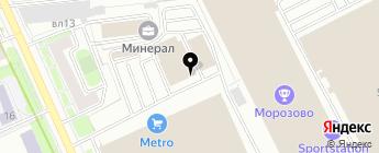 Сервис Азия на карте Москвы