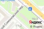 Схема проезда до компании Библиотека №16 им. Ф.П. Гааза в Москве