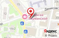 Схема проезда до компании Пинкус в Москве
