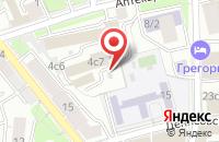 Схема проезда до компании Корос в Москве