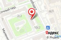 Схема проезда до компании Дизайн-Строй в Москве