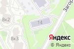 Схема проезда до компании Средняя общеобразовательная школа №1861 с дошкольным отделением в Москве