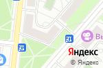 Схема проезда до компании Алекс-Дизайн в Москве