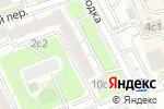 Схема проезда до компании Красная Горка в Москве