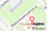 Схема проезда до компании Jerusalem Market в Москве