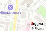Схема проезда до компании Инженерная служба Бабушкинского района в Москве