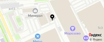 A1 MOTORS на карте Москвы