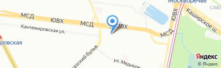 ELZA на карте Москвы
