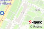 Схема проезда до компании Дэнко МСК в Москве