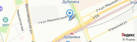 Ле Марко на карте Москвы