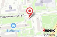 Схема проезда до компании Руспромстрой в Москве
