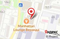 Схема проезда до компании Ремспецсистема в Москве