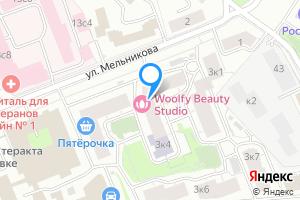 Сдается комната в однокомнатной квартире в Москве ул Мельникова, 3к2