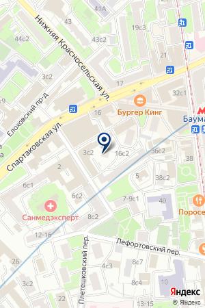 ЭКСПЕРТНАЯ ФИРМА ВИА ПРОФИТ на карте Москвы