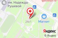 Схема проезда до компании Экстра М в Москве
