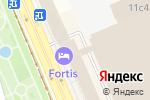 Схема проезда до компании Домофон Сервис в Москве