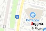 Схема проезда до компании Продуктовый магазин на ул. Лётчика Бабушкина в Москве