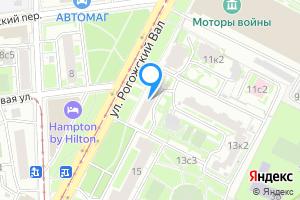 Сдается однокомнатная квартира в Москве ул. Рогожский Вал, 13к8