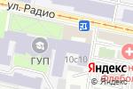 Схема проезда до компании Московский государственный областной университет в Москве