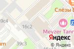 Схема проезда до компании ARTIST HOSTEL в Москве