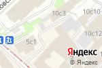Схема проезда до компании Puzzle Space в Москве