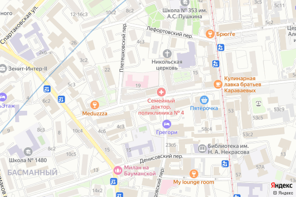 Ремонт телевизоров Аптекарский переулок на яндекс карте