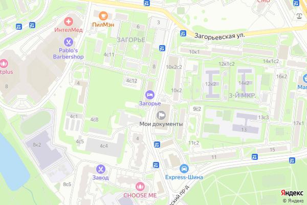 Ремонт телевизоров Улица Ягодная на яндекс карте
