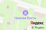 Схема проезда до компании Верный друг в Москве
