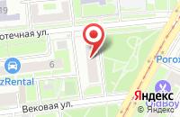 Схема проезда до компании Маир в Москве