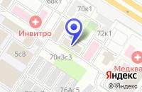 Схема проезда до компании ТФ AUDIOLIGA в Москве