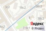 Схема проезда до компании Creative team в Москве