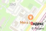 Схема проезда до компании Радушие в Москве