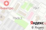 Схема проезда до компании Такси-Транзит в Москве