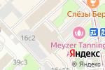 Схема проезда до компании Азъ в Москве